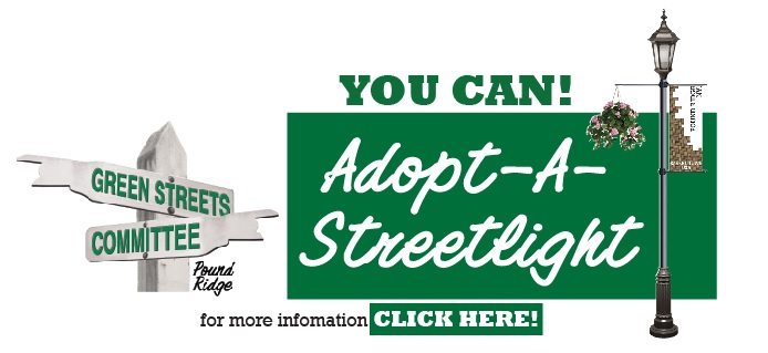 Green Streets Program Offers Pound Ridgers A Chance to  Adopt-A-Streetlight